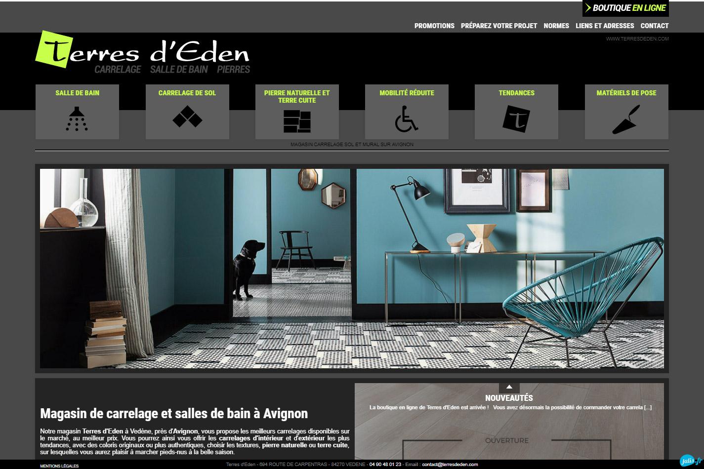 Magasin Salle De Bain Aix Les Milles ~ terres d eden magasin de carrelage d coratif avignon nord tout pour